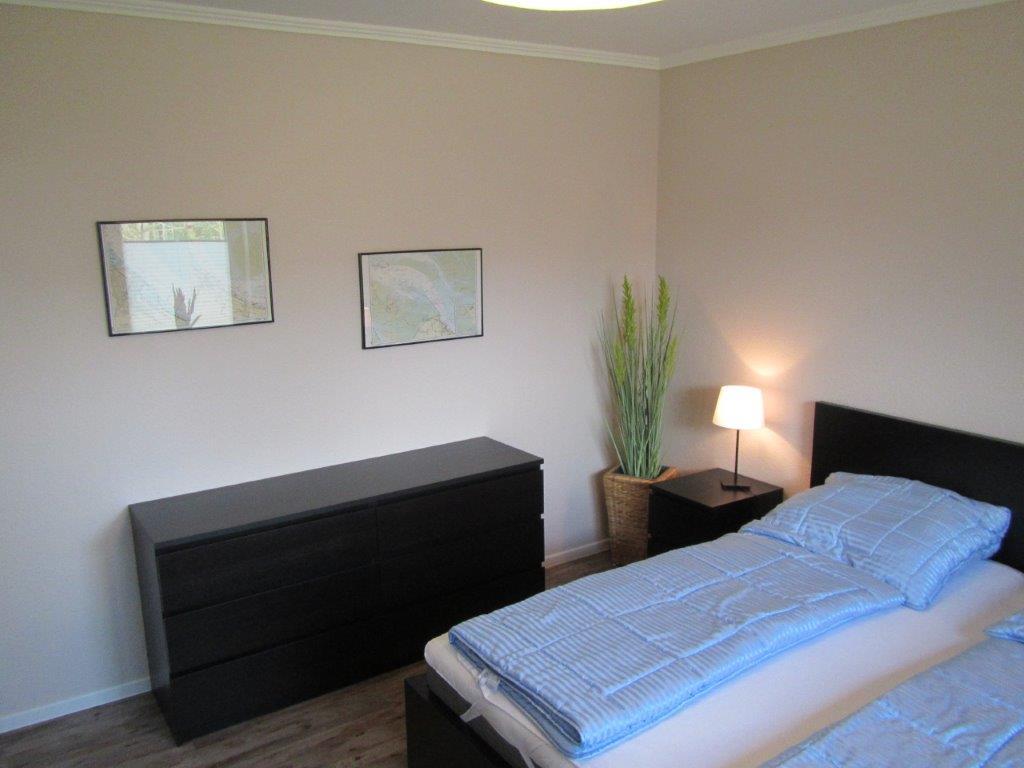das Schlafzimmer | Ferienwohnung Lerchenweg 2