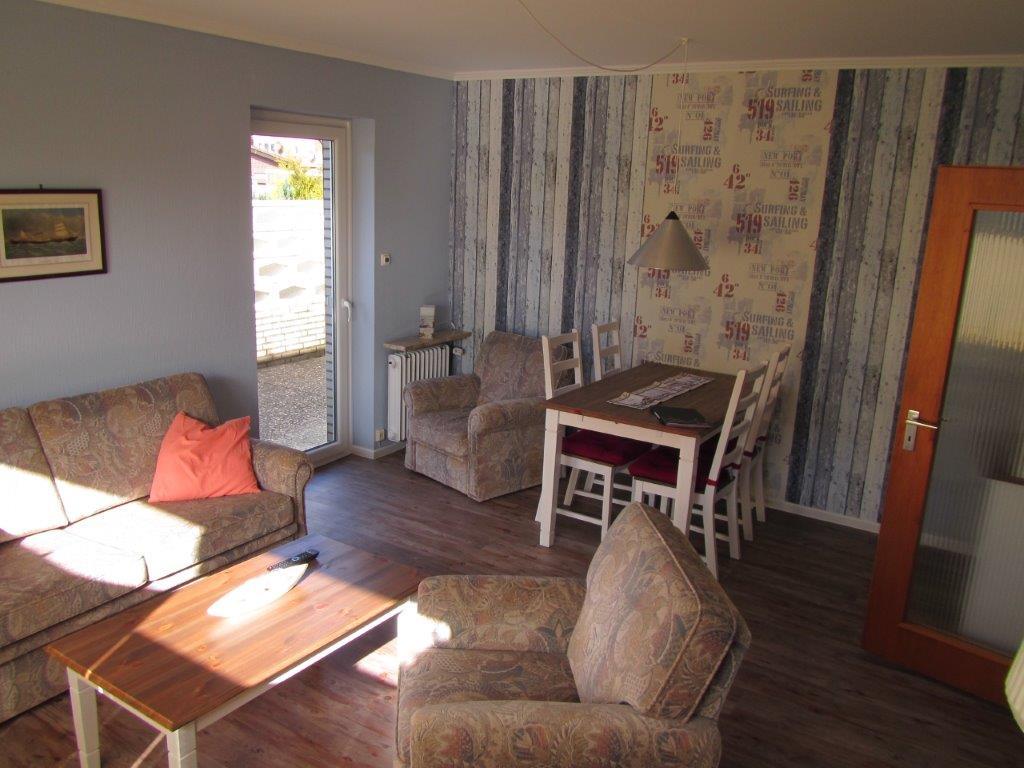 das wohnzimmer – ferienwohnung lerchenweg 2